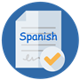 Spanish Checker